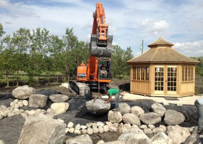 Huge backyard renovation