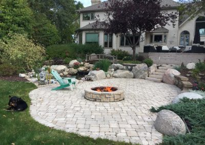 Creative outdoor living spaces add incredible beauty and value to a property