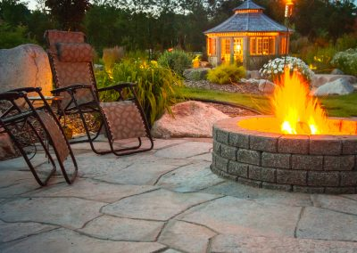 Backyard resorts are part of the Galay Landscaping experience