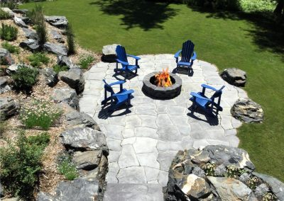 Creating works of art using natural elements is the goal at Galay Landscaping design studio