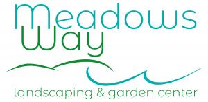 Meadows Way landscaping and garden center logo on white